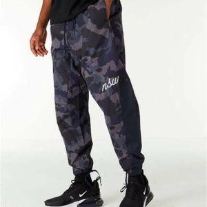 Nike Sportswear NSW Woven Jogger Pants Blue Camo 9